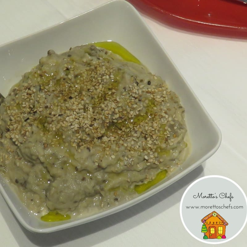Babaganoush salsa di melanzane