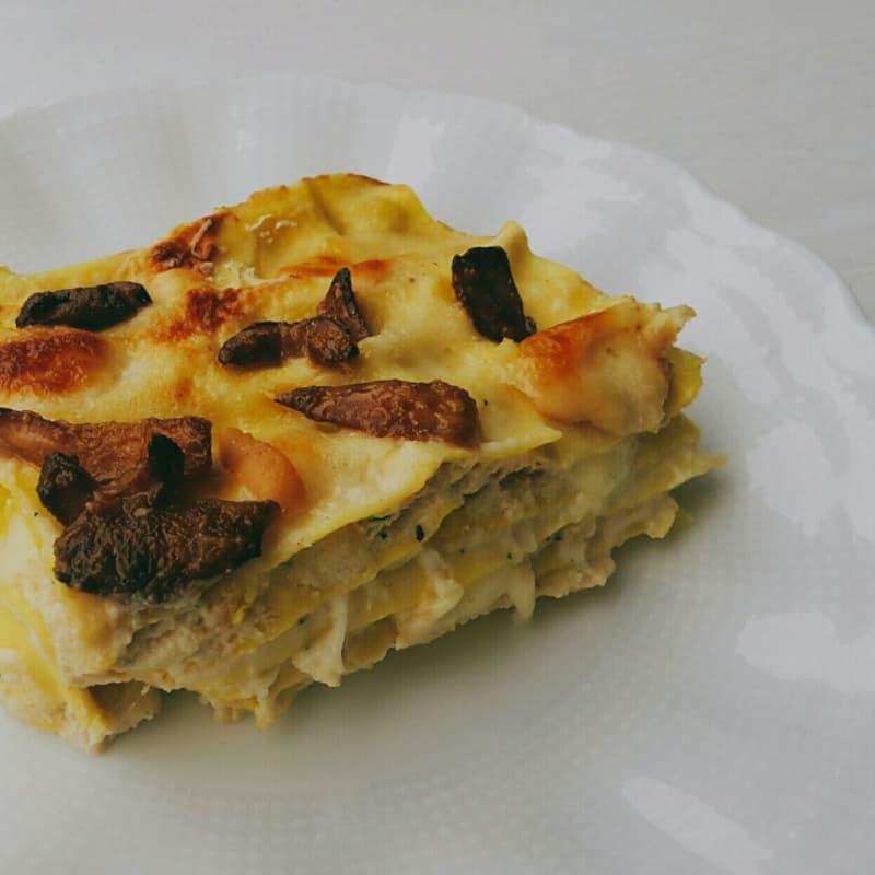 Lasagne ricotta e funghi