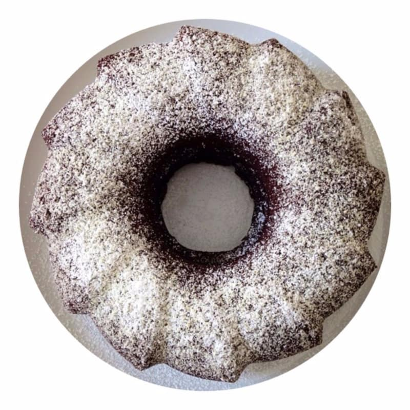Pastel Bundt con el chocolate