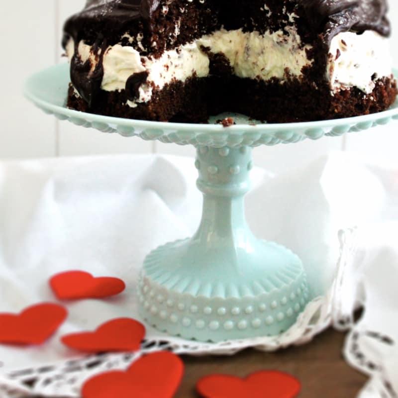 torta amaretti y cacao