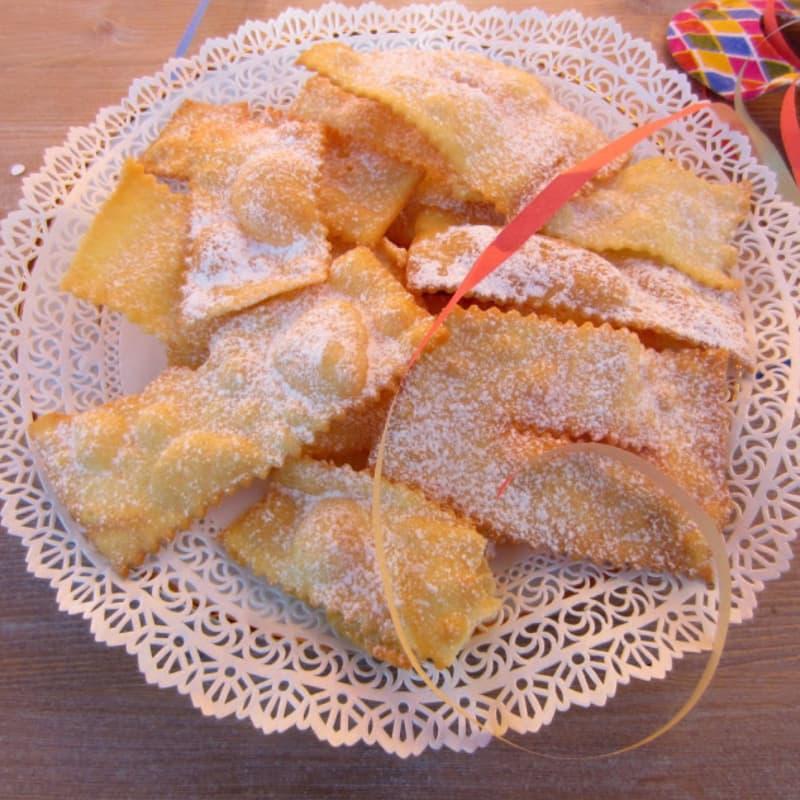 Venetian crostoli
