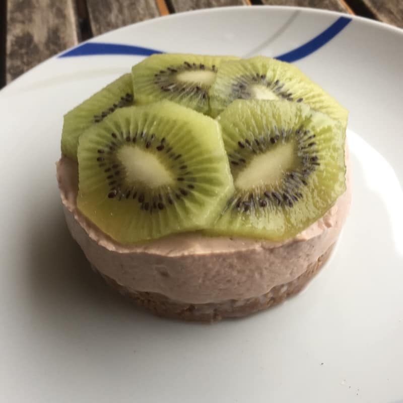 Fit mini cheesecake