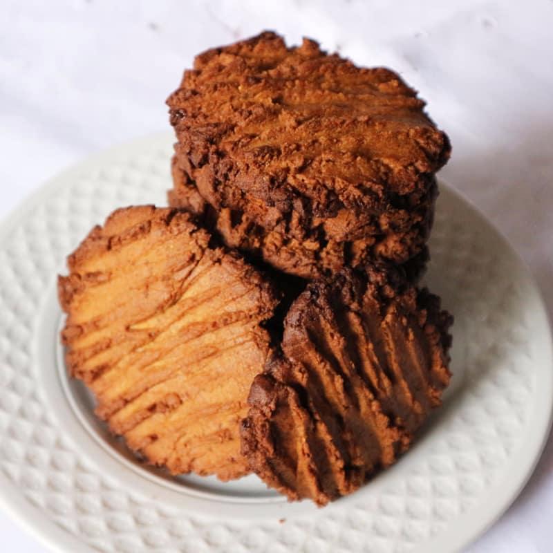 galletas de mantequilla de maní rápido y fácil