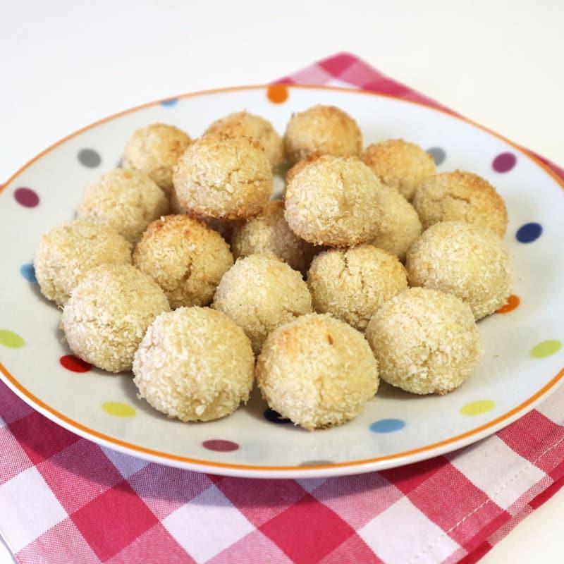 pastelitos de coco rápida