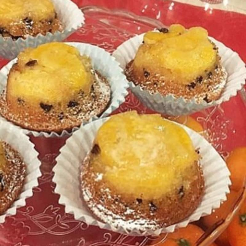 Tortine di farro arancia e clementine