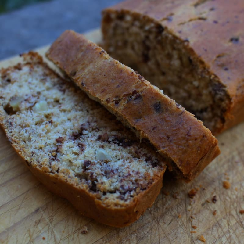 Banana bread vegano