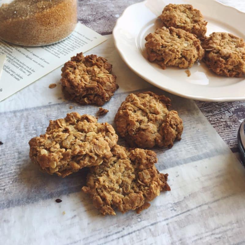 galletas veganas a la harina de avena