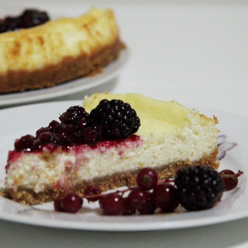 pastel de queso de Nueva York