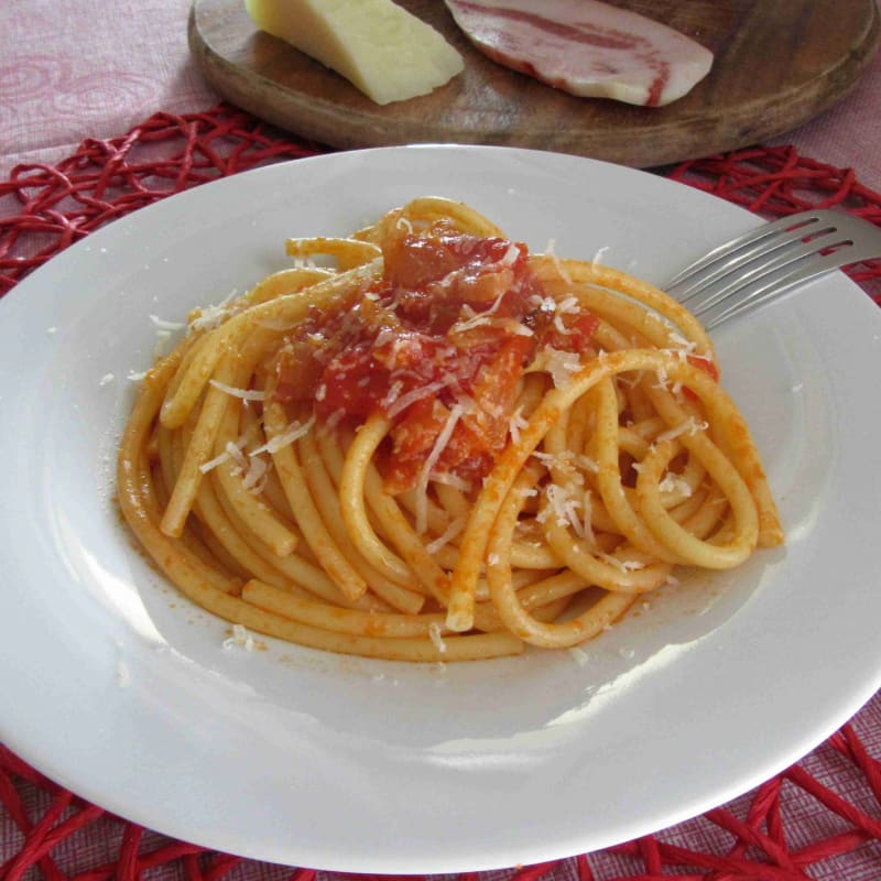 amatriciana bucatini