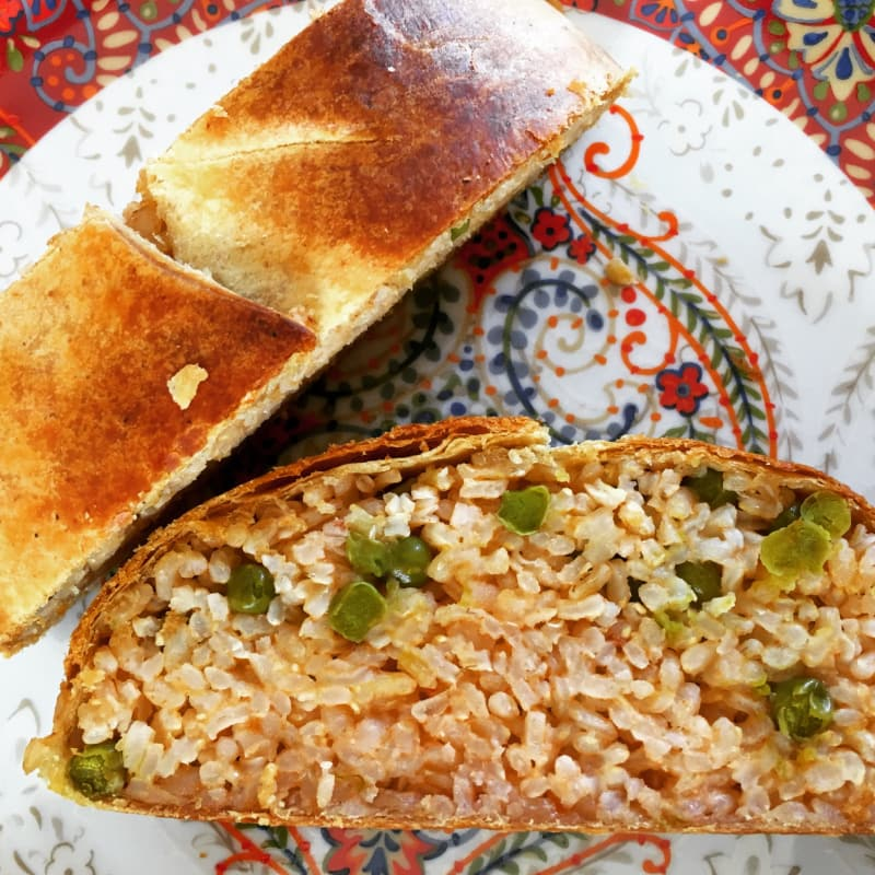 Strudel risotto integral