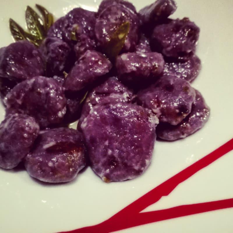 púrpura Gnocchi