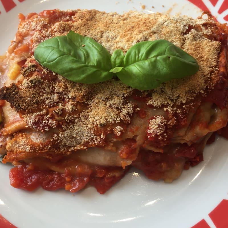 Lasagne vegan fatte in casa