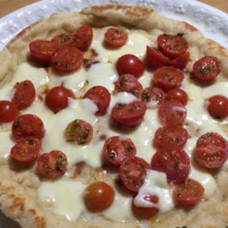 Pizza margherita leggera