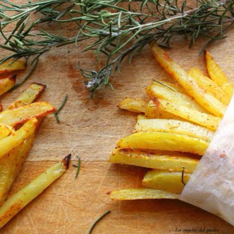 patatas paprika perfumado con romero