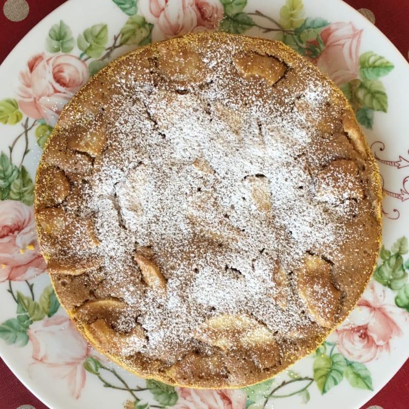 tarta de manzanas integral