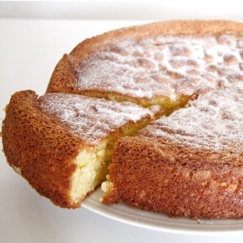 pastel de Capri con Limoncello