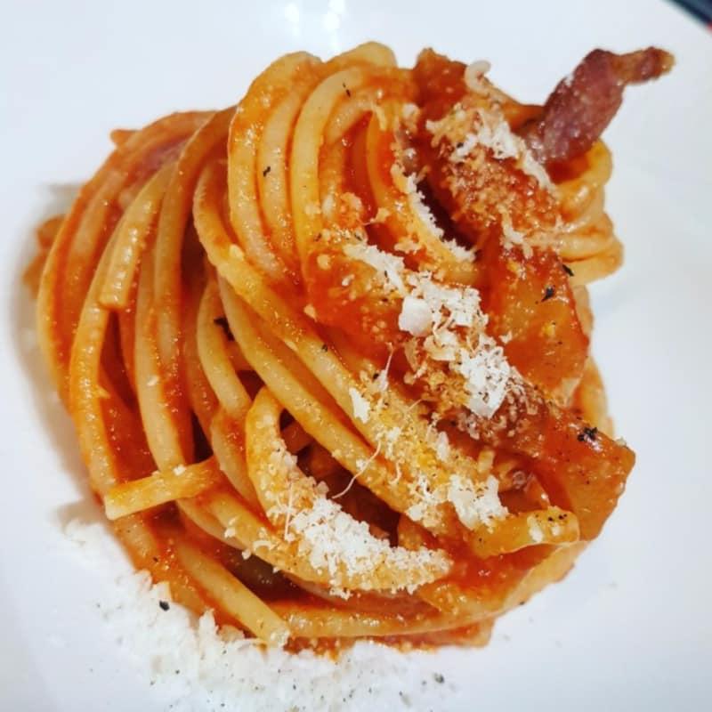 amatriciana espagueti