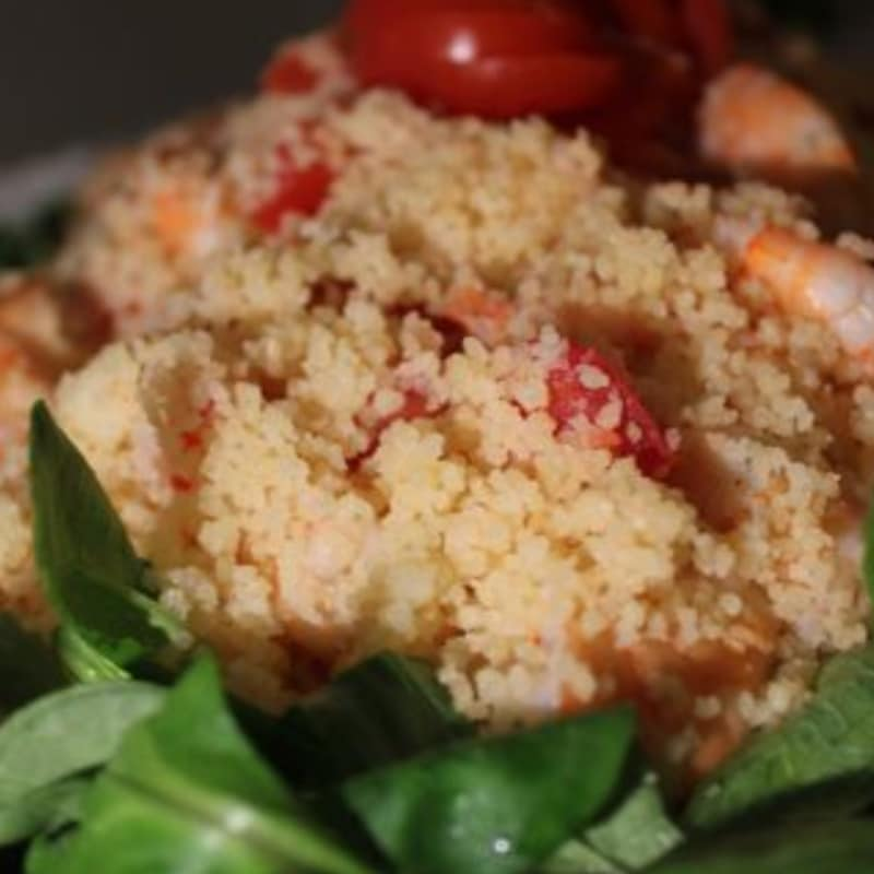 Cous cous con gamberetti