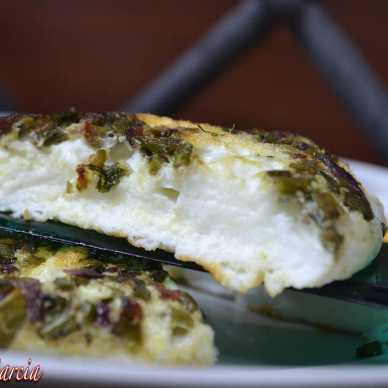 La tortilla sin colesterol
