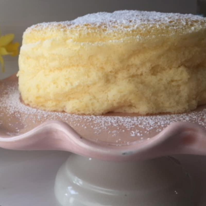 pastel de queso de algodón