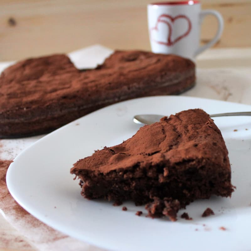 Torta cioccolatosa all'olio d'oliva