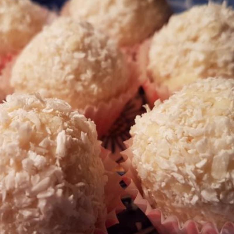 trufas de coco