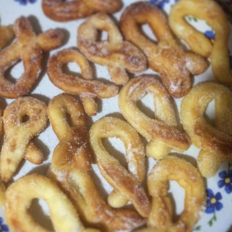 Grapas de patata sin gluten y sin lactosa