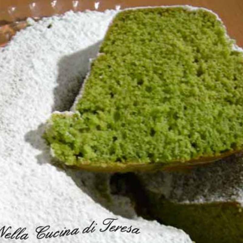 PISTACHO pastel de crema