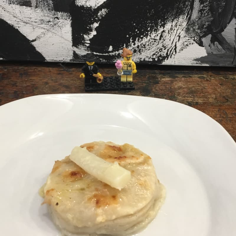Vegan Lasagna con espárragos y jengibre