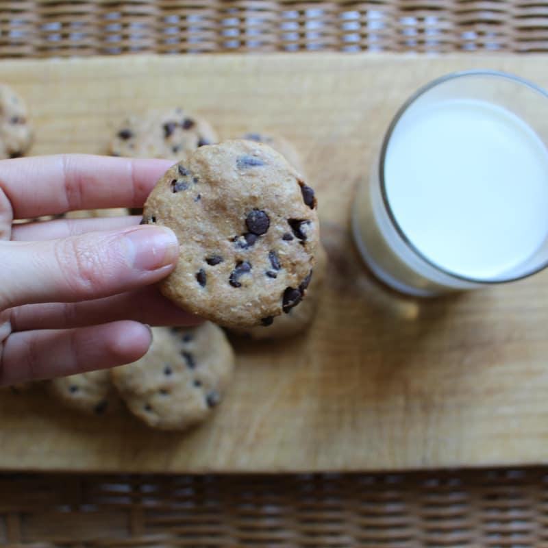 Cookies americani senza burro