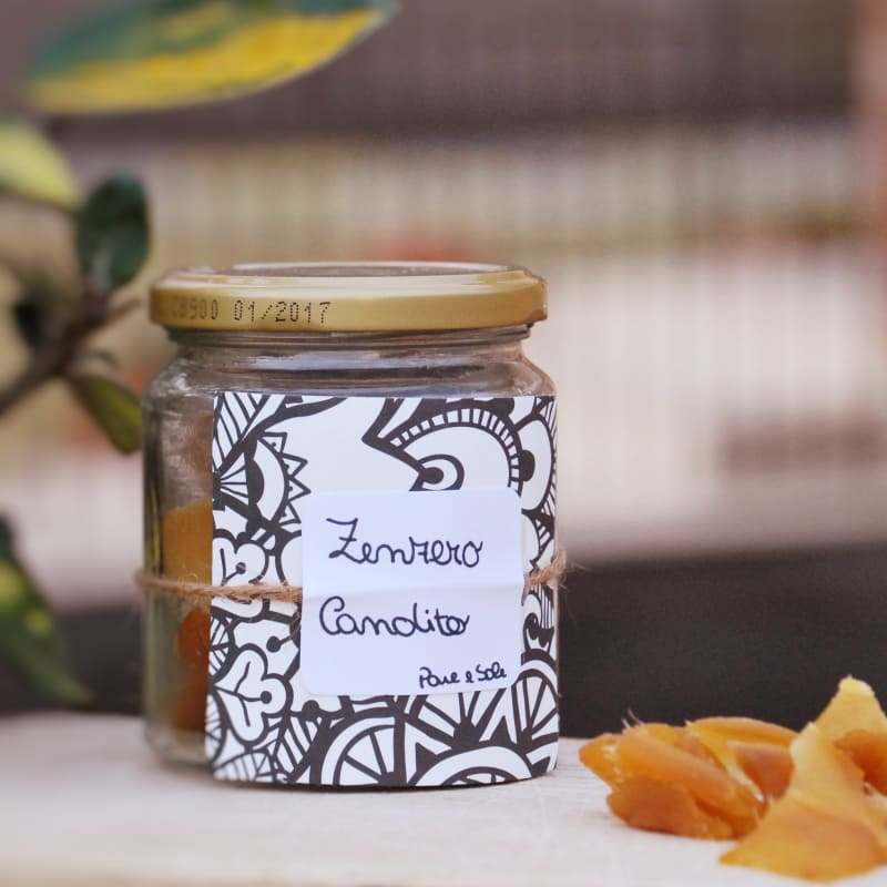Remedios naturales USTED MISMO: jengibre confitado