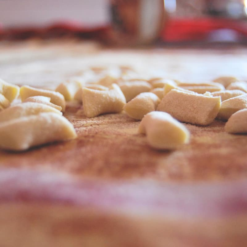 Pasta casera sin huevo