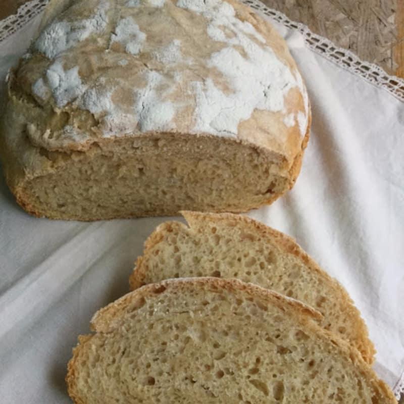 No masa de pan con levadura