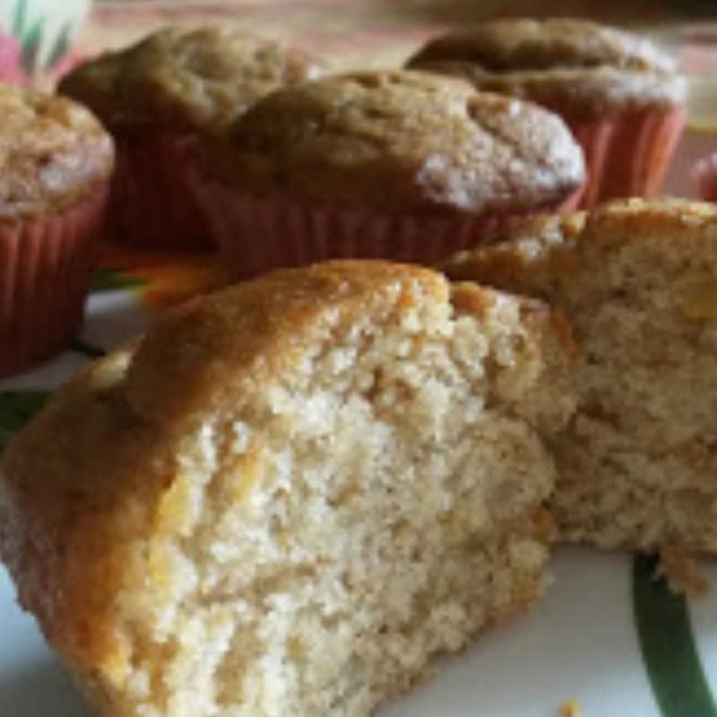 Muffin alla marmellata di limoni