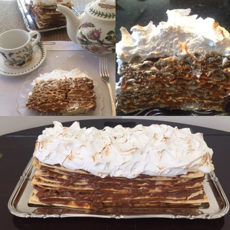 Torta de mil hojas