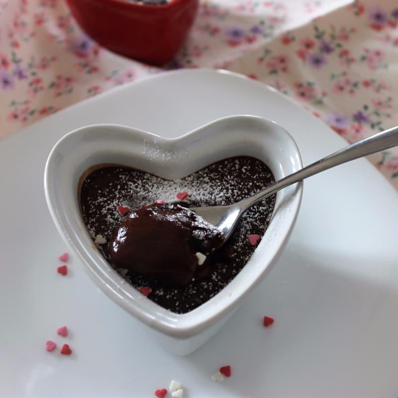 Empanadas con corazón de chocolate suave
