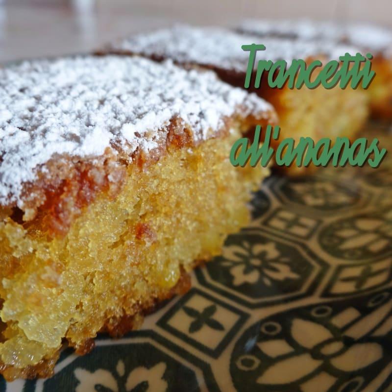 Gluten-free pineapple tranche