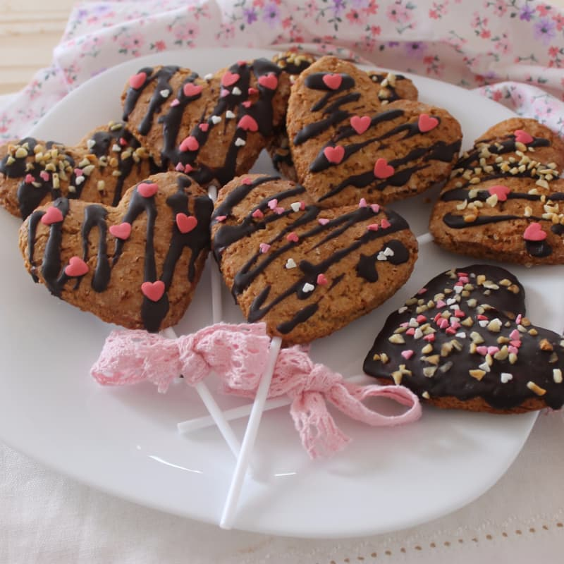 Cookie pops dell'amore