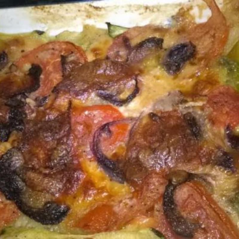 verduras Plato de pastelería