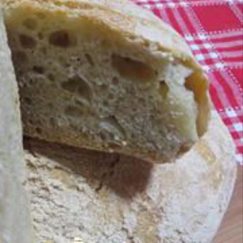 hay una receta de masa de pan