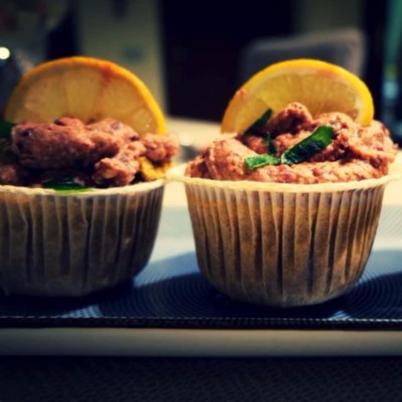Cupcake salati alla messicana vegan