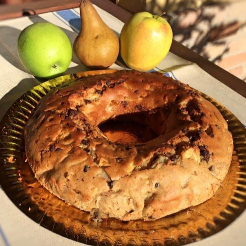 Ciambellone COMPLETO pera, manzana OSCURO lactosa