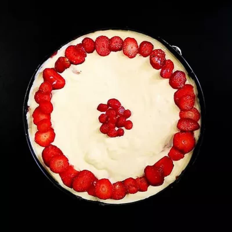 Tiramisu 'con fresas