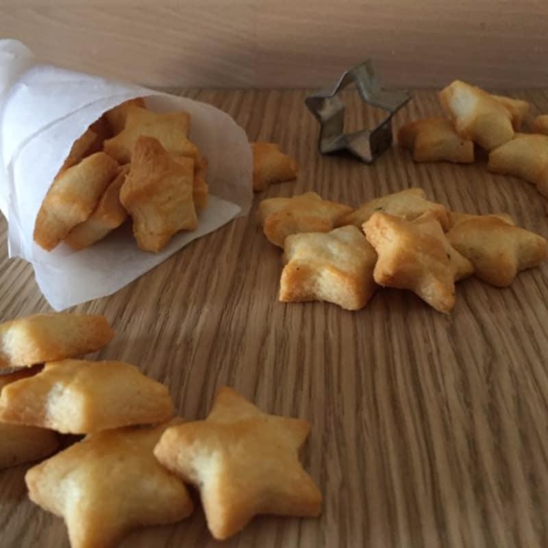 galletas de parmesano