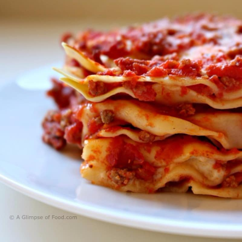 Lasagna al forno classica