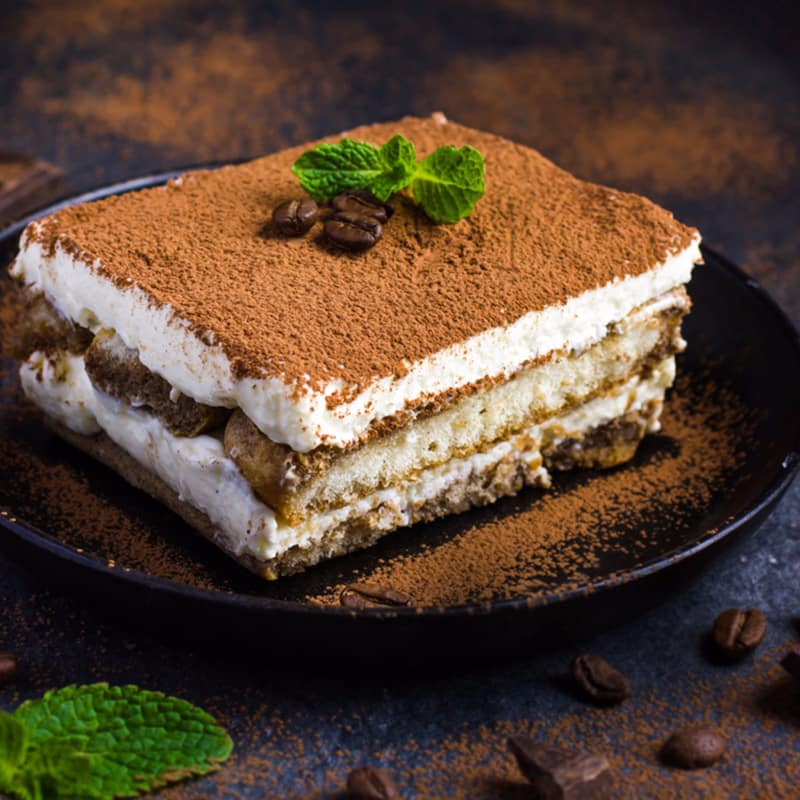 proteína Tiramisú con yogur griego