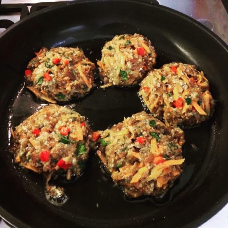 Hamburguesas con quinoa