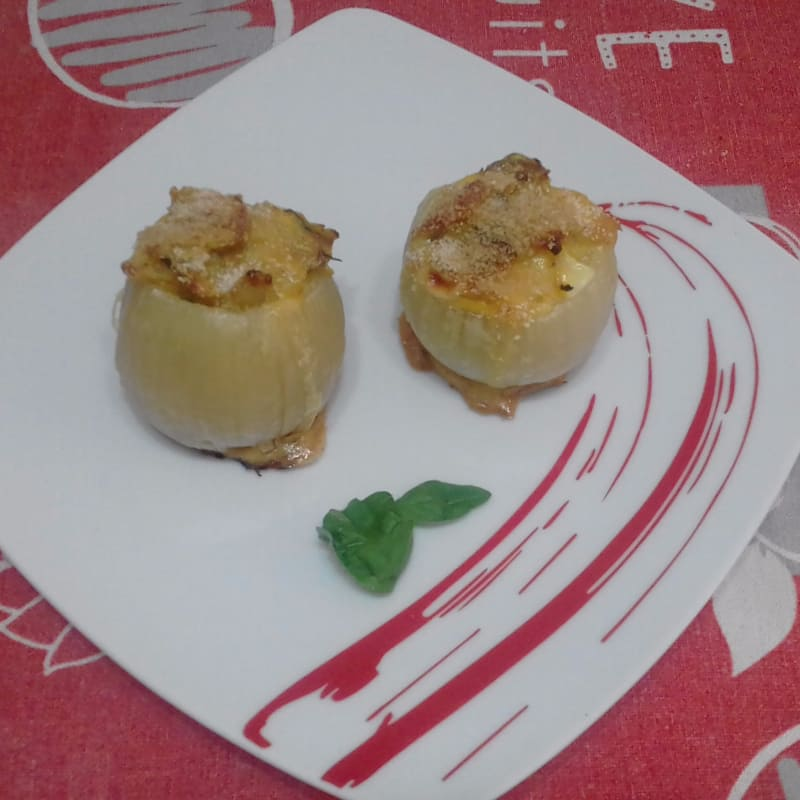 Stuffed Onions On Olives ...