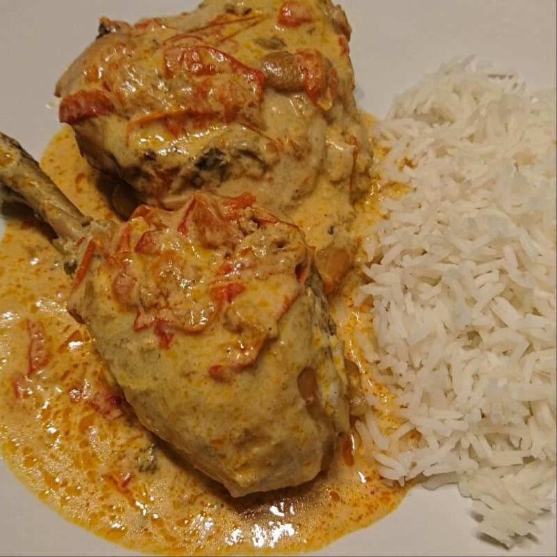 Paprikash pimentón de pollo