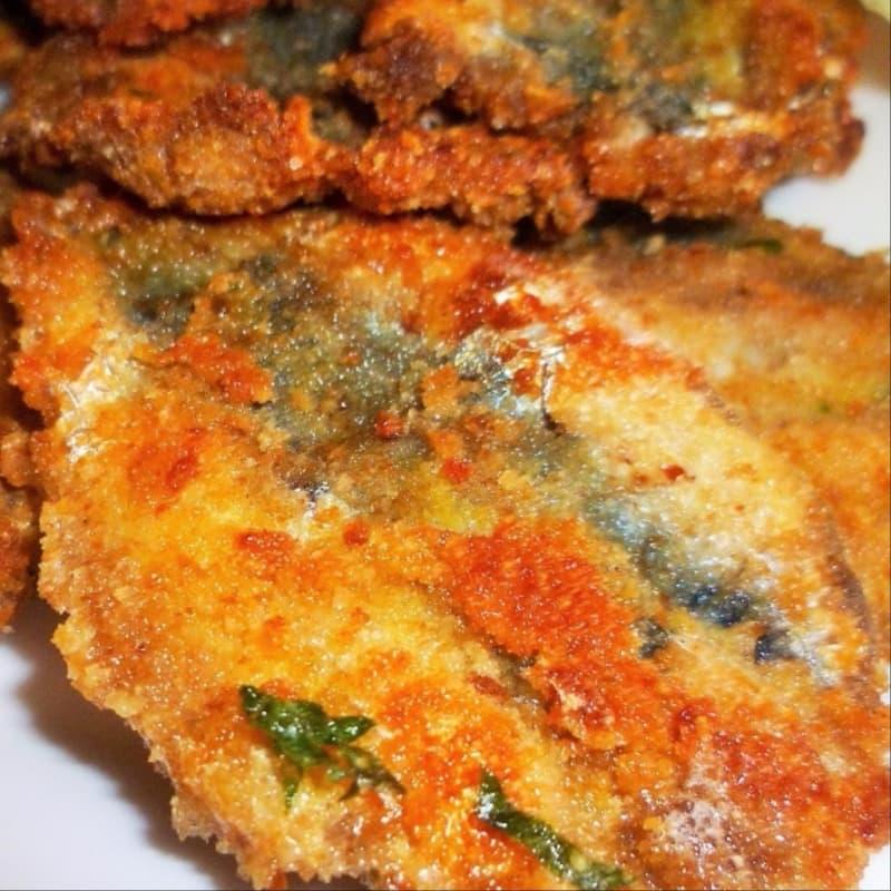 Sardines cutlets